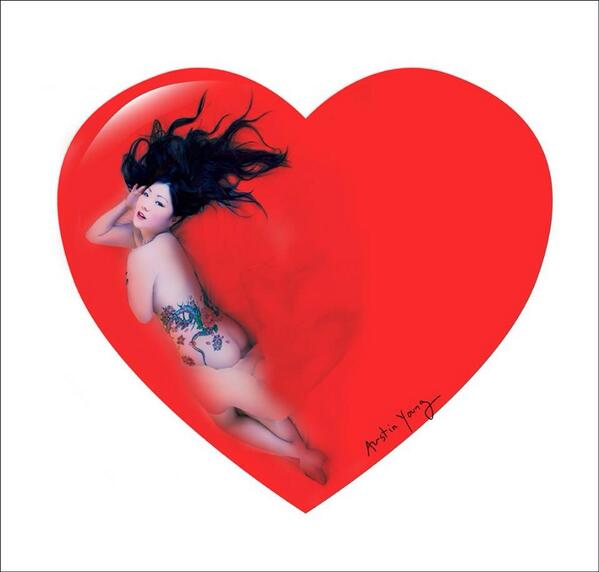 Happy Valentines @margaretcho  pin-up http://t.co/qEX6FjtC7R
