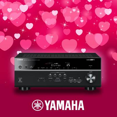 "Happy Valentine's Day Yamaha Fans! ""RT"" if you love your receiver. http://t.co/JxkoRQ05SH"