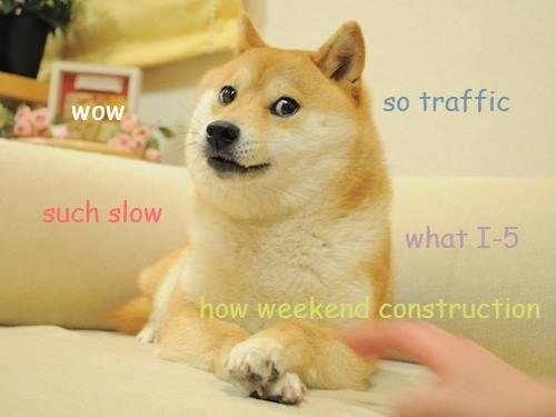 Heard about the SB I-5 closure this weekend in Seattle yet? Much construction  http://t.co/9Xa1ikIKFJ http://t.co/qwHyBknN1d