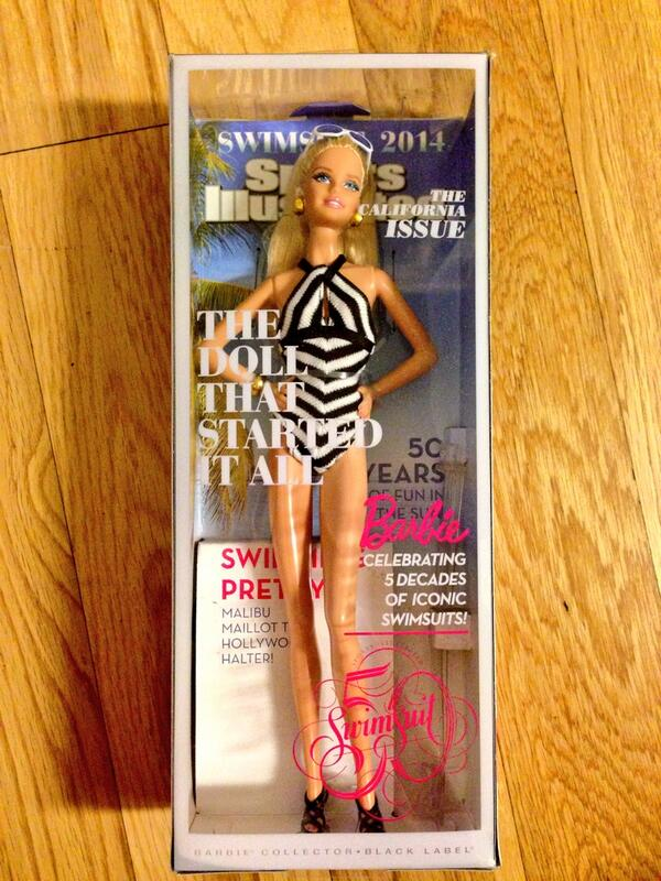 25 and I have never been more excited about a @Barbie @SI_Swimsuit  #NeverTooOld #SISwim50 #Unapologetic