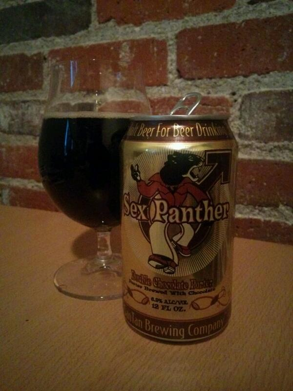 """""""Yep, it's made with bits of real panther, so you know it's good."""" @SanTanBrewing #craftbeer http://t.co/YwymLsSSMB"""