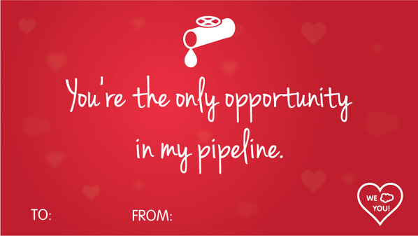 Funny stuff. @salesforce: The only one. #SalesforceValentine http://t.co/kWYpj7PDYO http://t.co/GyjiZ9icmA