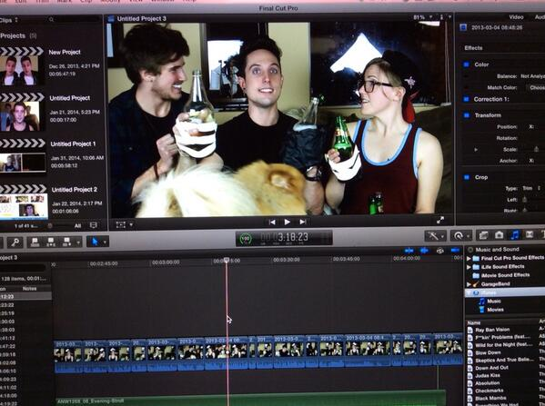 Tomorrows Video Shall Be Epic - #EdwardFortyHandsWithSawyerAndHannah http://t.co/6H21px82R5