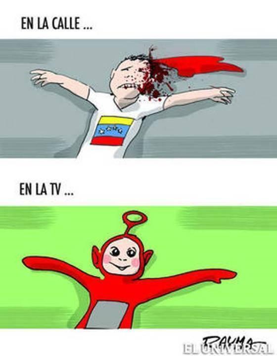 Mientras tanto en las pantallas de Venezolana de television (@VTVcanal8) @PartidoPSUV http://t.co/bYzjyMlffa