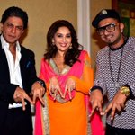 Shah Rukh Khan, Madhuri and Yo Yo Honey Singh attending Temptation Reloaded Tour press conference in Malaysia http://t.co/9MZHLGetaw