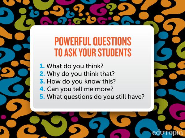 5 powerful questions to ask your students: via @edutopia #edchat #unionrxi http://t.co/qGQsOxPL9J