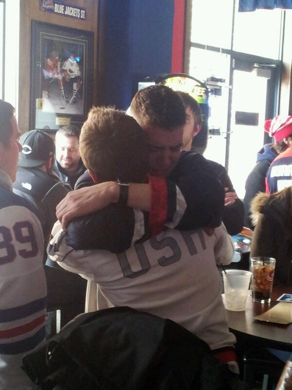 #Hockey  RT @CPFro3 Drunk crying guy #bestest http://t.co/Gx8OUIHurA