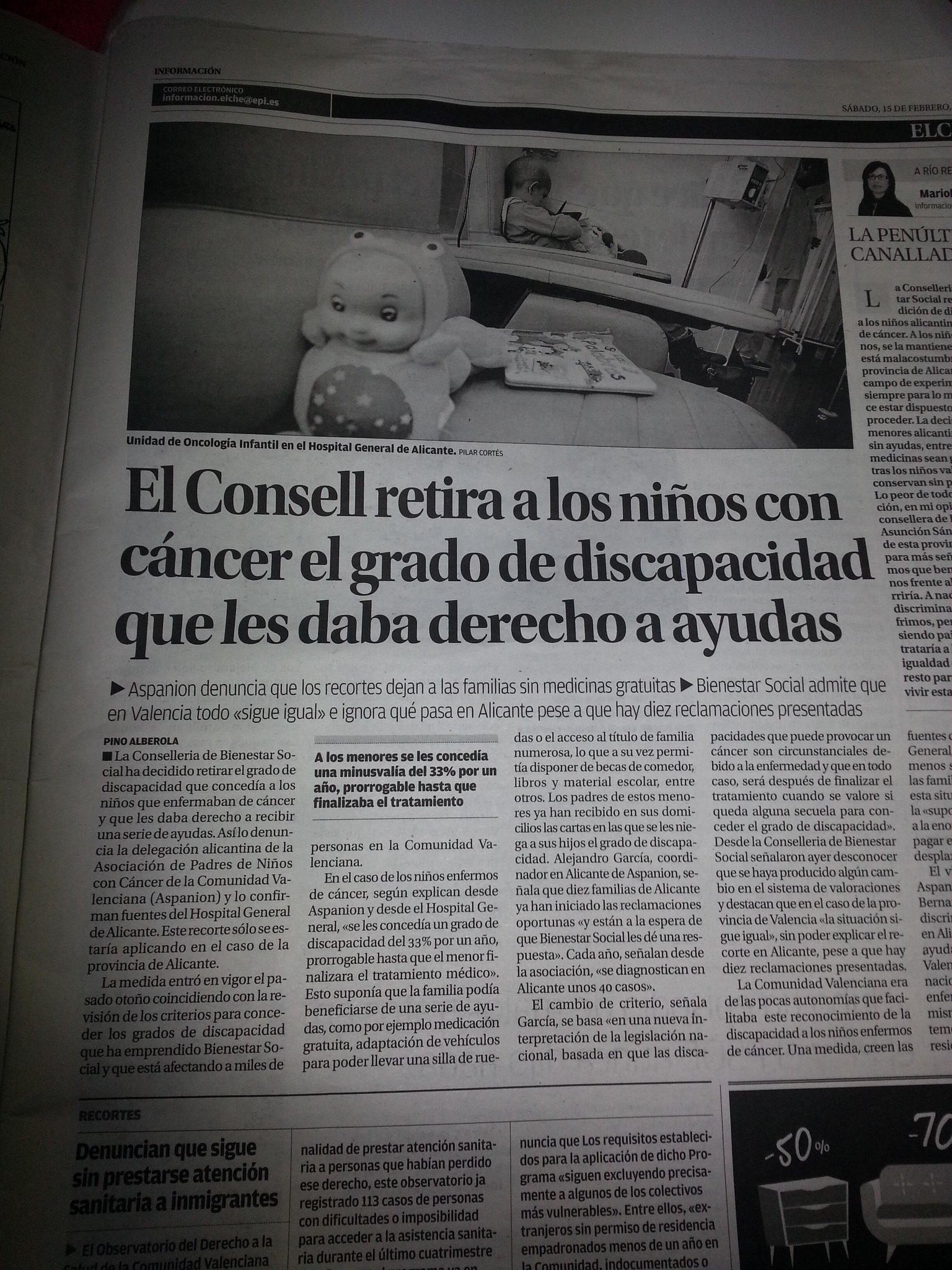 RT @pablete075: @eva_hache Hola!! ¿puedes RT  a esta vergonzosa noticia? Diario Informacion Alicante http://t.co/SNLFnThhYg