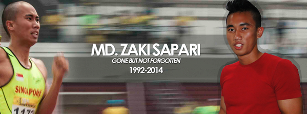 RIP Singapore hurdler Zaki Sapari, 22, killed in a motorcycle crash last night. Our thoughts are with his loved ones. http://t.co/y9F798IIXR