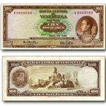 """#20oct Billete de 100 Bolívares 1969 le decian """"un marrón"""" o una """"tabla"""" y equivalía a 23.25$ http://t.co/53W2uLEFfB vía @m0nedaVenezuela"""