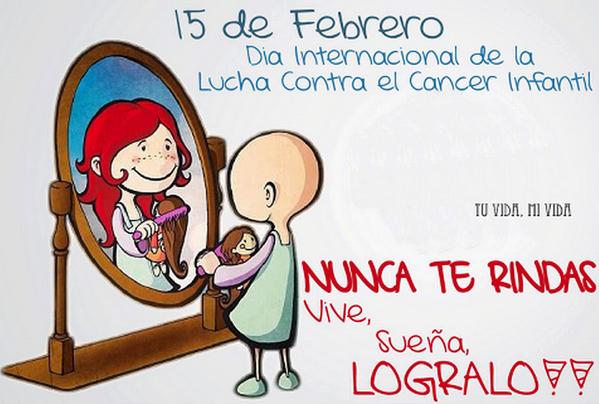 Dia Mundial Contra El Cancer Infantil  #DiaMundialContraElCancerInfantil http://t.co/IV8urES4ZT