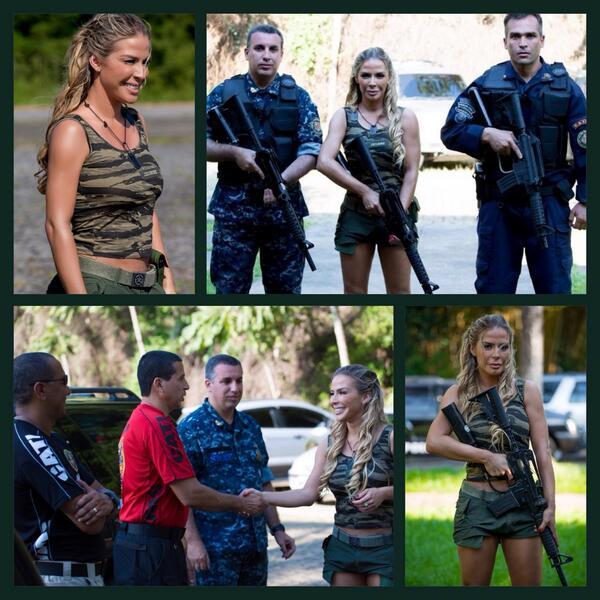 Aêêê galeraa, matéria POWER comigo e com os policiais do CATI SWAT. IMPERDÍVEL, as 14:00h Sábado Total, na Rede TV!!! http://t.co/B1HMjc415m