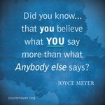 RT @JoyceMeyer: