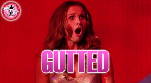 Ladies and Gentleman, this is what rejection looks like. Gutted. #takemeout http://t.co/0TxJnW29vw