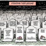 RT @politicoroger: The power of a great cartoonist: Standing Their Ground by Jim Morin of The Miami Herald. http://t.co/oXcL2fSQhu
