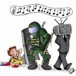 RT @anitaalmao: @paurubio Esta caricatura refleja la realidad de los medios Venezolanos. http://t.co/kHuiMeGrj5