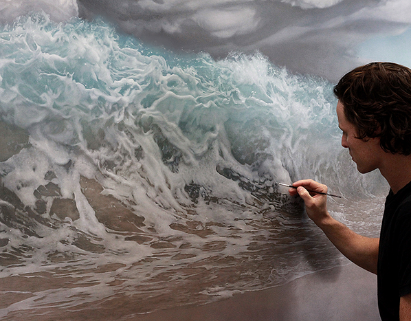 Powerfully Captivating Surreal Oil Painting by Joel Rea. http://t.co/MCKgXe77On