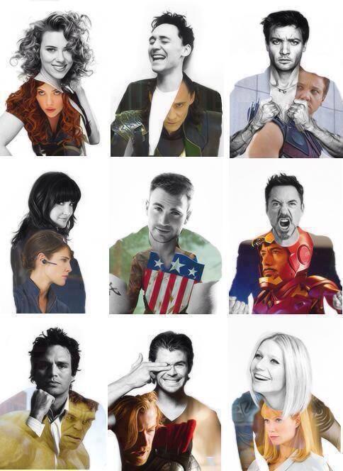 ロバートダウニーJr.がUPしてたこの写真みんなかっこよくて好きー!!! 早くアベンジャーズ2観たい!!!!!! #Avengers #Marvel #hero http://t.co/SHb3G5SA3h