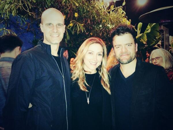 #VILLON opening night party with one talented couple-  My dear friends, @SashaAlexander1, and her hubs, Eduardo Ponti http://t.co/ltLTSoSW0Y