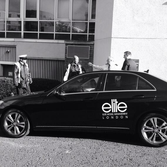 @Elite_London car bringing models for fittings- 25 hours until the @issalondon show! #LFW http://t.co/BlobKyF7eb