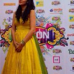 Thankq Gaurang for another beautiful outfit for making my first tamil award ceremony even more special