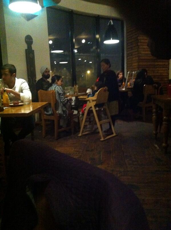Delhii's daily shame: making your maid stand while you have dinner at a restaurant http://t.co/9DdIJurT7s