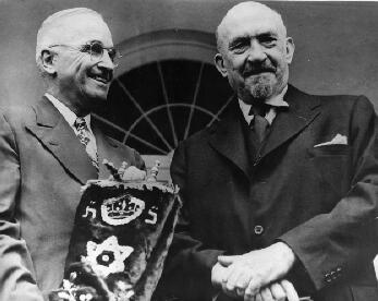 Did you know: President Truman made the US the 1st nation to recognize Israel on May 14, 1948. http://t.co/OI37tfGm75 http://t.co/RjQQDlI4y7