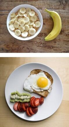 Dos opciones diferentes e interesantes de desayuno para mañana, ¡a empezar el día con energía! http://t.co/nG74U9x9BL