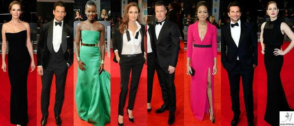 From Brad & Angie to David Gandy & Lupita Nyongo.. Check out My BEST DRESSED at the #BAFTAS: http://t.co/0AD1HDNIcW http://t.co/n7FQ3j7W5R