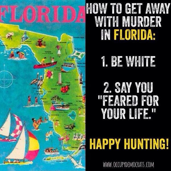"""@bcarrz: I have no interest in visiting Florida! #boycottFlorida #DunnTrial #Justice4Jordan http://t.co/NuigUxmP8R"""