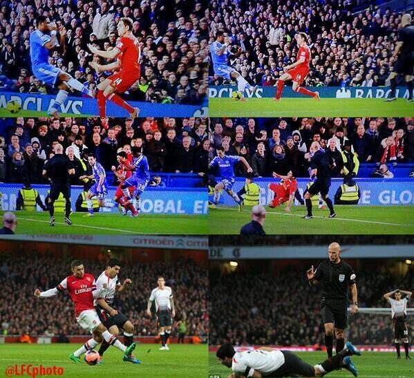 Bgq5qlxIYAABUnd Liverpool fans have created plenty of Memes laughing at referee Howard Webb after Arsenal defeat