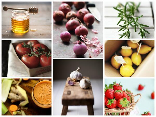RT @5aldiaspain: Algunos antibioticos naturales para combatir este tiempo: #limón, #ajo, #cebolla, #tomate, #romero, #fresas,# miel.. http://t.co/AOfeE7ZNNg