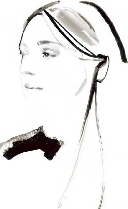 Follow @FenwickBondSt & RT #TalkingHeads to win this 1-of-akind David Downton sketch of @MoP_London's Amy Powney http://t.co/Nz4JEN9mXq