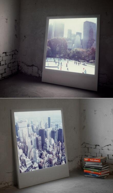 Backlit Polaroid http://t.co/QrrLczb8zG