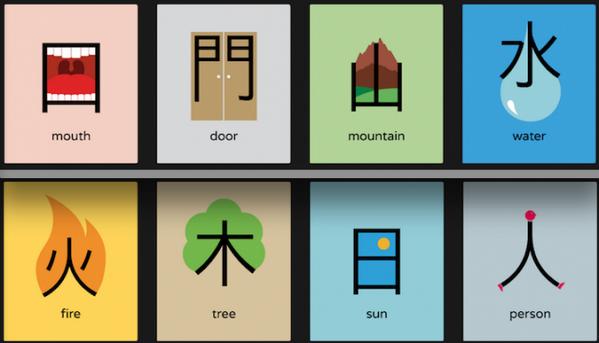Veids, kā iemācīties ķīniešu valodu! Šādi izskatās jau nedaudz vienkāršāk. :) http://t.co/qHKuuEGjJf