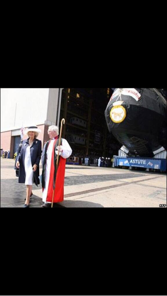 "Bishops ""bless"" nuclear submarines but oppose blessings for same-sex relationships. Discuss?  http://t.co/QAYqBt2g5N"