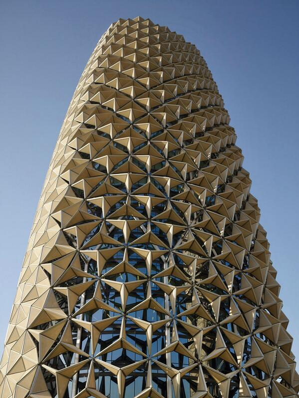 AEDAS clads al bahr towers with dynamic shading device http://t.co/IHcsM80db7 #architecture http://t.co/jKRs7542JT
