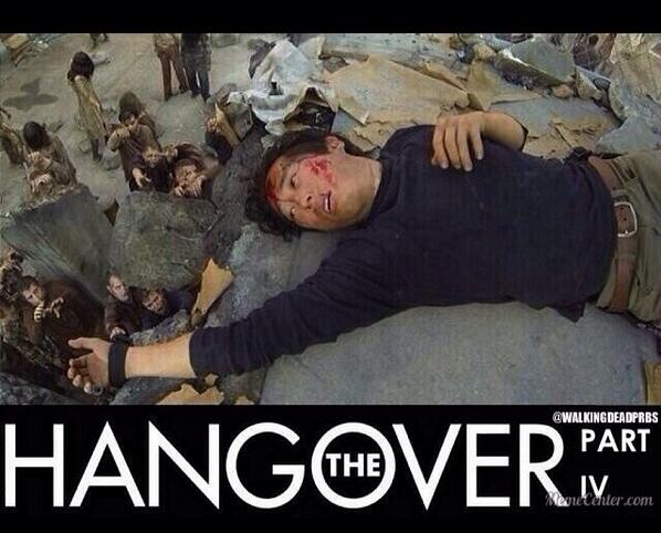 The Hangover Part IV featuring Glenn. #TheWalkingDead http://t.co/qEex0VaHVQ
