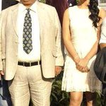 RT @satishkaushik2: Me and Mahi Gill at the derby race at Mahalakshmi Race Course for the promotion of our film Gang Of Ghosts http://t.co/…