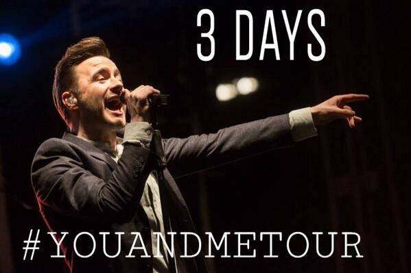 Shane Filan World (@ShaneFilan79): 3 days to go!! @ShaneFilan http://t.co/6Adf8AXjAc #YouAndMeTour http://t.co/cvwc5GWcHA