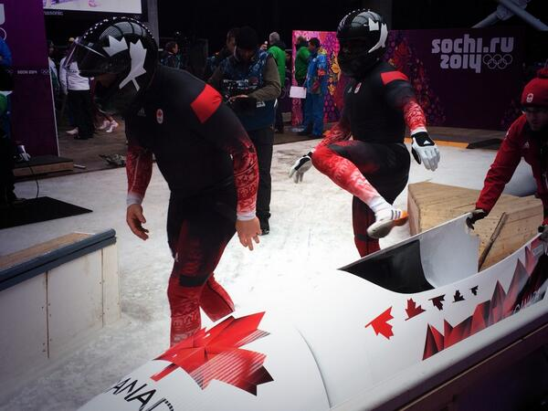 Can-2 & Can-1 will finish ahead of USA-2 & 3. We're looking for the complete set w/ Can-3. #WeAreWinter #Beardmode http://t.co/VceptmIBjd
