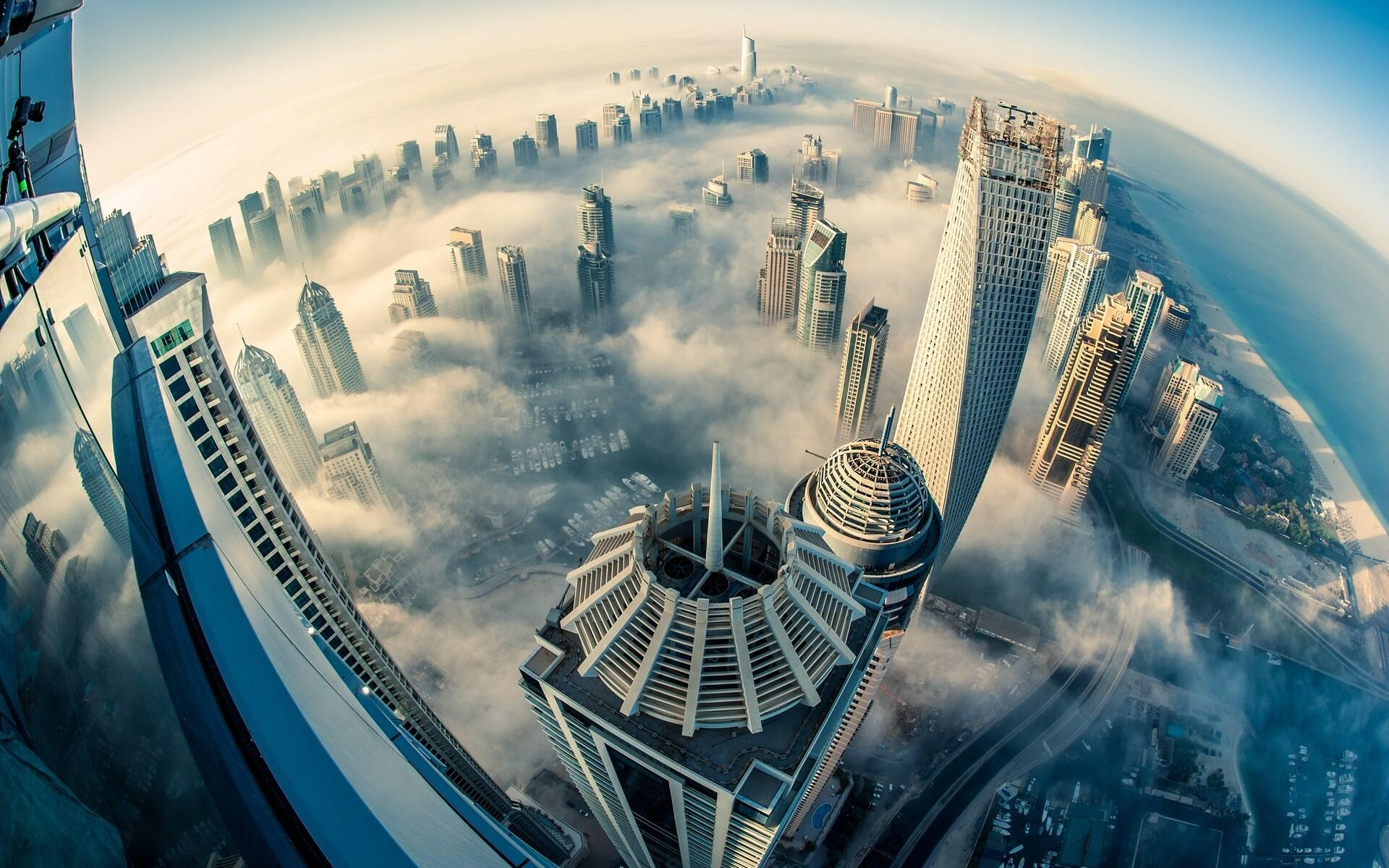 Here's a magnificent aerial view of Dubai http://t.co/gRNxY9xZFe