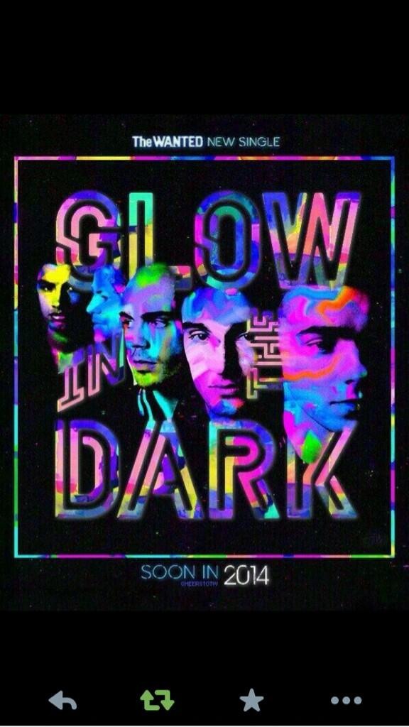 This is what you call artwork! #GlowInTheDark @thewanted http://t.co/1LVwKttObL