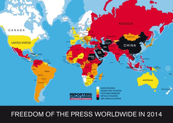 La libertad de prensa en el mundo http://t.co/zYNlsfraMQ –vía @smfrogers, @ProPublica & @Wonkblog http://t.co/czZSYDUJdq #12F