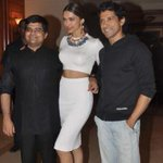 ..With @deepikapadukone and @FarOutAkhtar at the filmfare awards issue launch:)