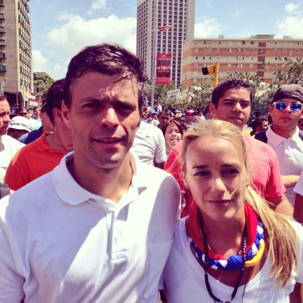 Lilian Tintori (@liliantintori): Mañana y SIEMPRE contigo!!! @leopoldolopez http://t.co/K5Iyy5qmUV