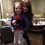 I'll keep working on 'em! RT @AubreyLily nice meeting you @PaulaAbdul ! Keep working on your splits :) xo Aubrey http://t.co/jqbM3tP335