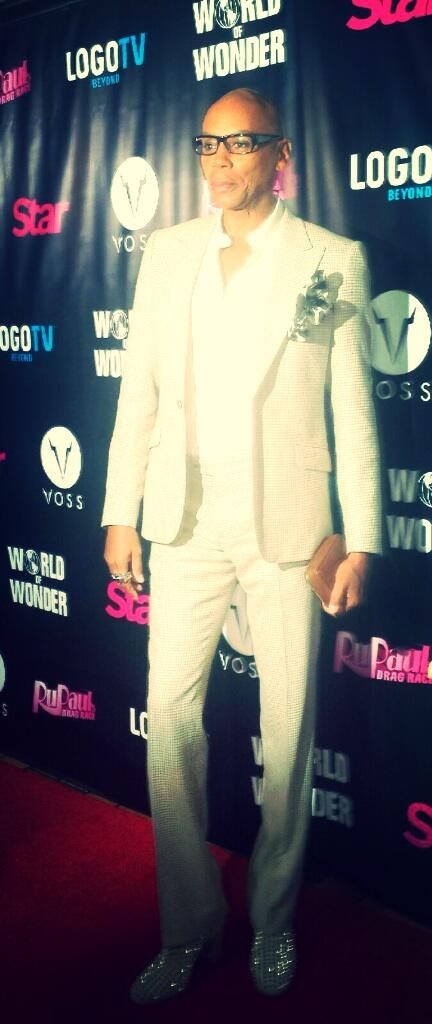 The fabulous @RuPaul at our @RupaulsDragRace premiere party!! Looking good! http://t.co/CUGAZXWxXw