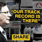 Under Denis Napthine and the liberals no job is safe #toyota #ford #holden #alcoa #springst http://t.co/g3c0YYAJKS