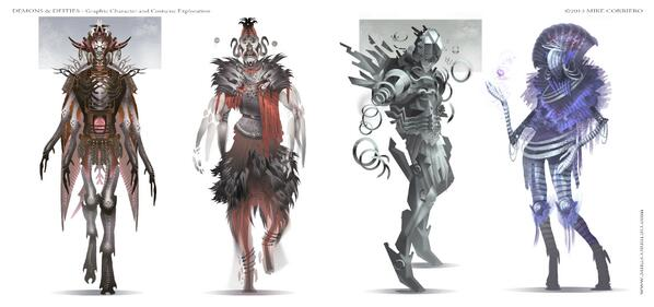 """A select few of my graphic """"Demons & Deities"""" concepts will be featured in @AdvancedPshop Magazine issue #119 http://t.co/jasFHozqgL"""